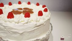 Himbeer-Sahne Torte