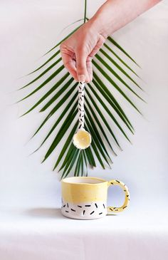 Tiger Cup and spoon My Jungle by lamalconttenta on Etsy