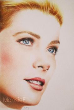 Grace Kelly by MonsieF.deviantart.com on @DeviantArt