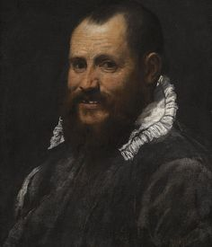 Portrait of a Man By Annibale Carracci