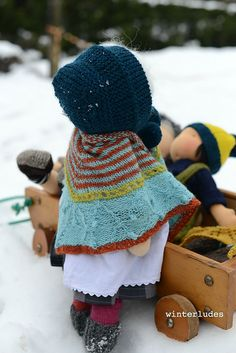 Ravelry: winter's mystery KAL for doll pattern by winterludes dolls