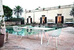 Table RADICE QUADRA, Aluminium Indoor/Outdoor, 200x90 Cm, FAST Spa