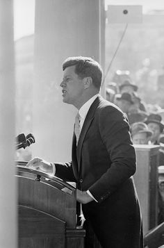 """Ask not what your country can do for you; ask what you can do for your country."" John F. Kennedy Quotes And Photos From Early Years"