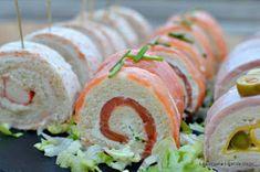 LA EMPANA LIGHT DE BEGO: Rollitos de Canapés con Pan de Molde. 3 Recetas fáciles y Rápidas. Canapes, Sliders, New Recipes, Catering, Sushi, Brunch, Veggies, Cocktails, Appetizers