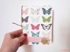 Libreta Mariposas, Papel, Cuadernos