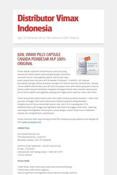 distributor vimax indonesia penis enlargement market pinterest