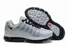 Nike Air Max 360 2011 White Black Mens Shoes PlM7y