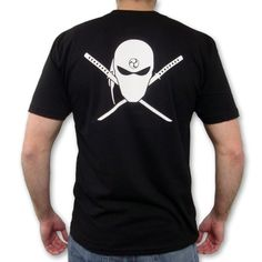 Black Ninja Assassin Shirt now available exclusively from http://www.karatemart.com