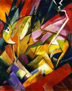 The Athenaeum - Mountain Goats (Franz Marc - )