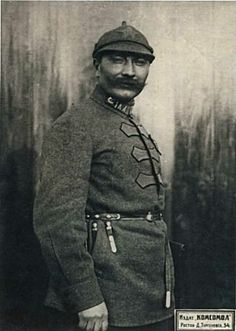 Marshal of the Soviet Union Semyon Budyonny - A Don Cossack who commanded the legendary 1st Cavalry Army of the Soviet Red Army during the Russian Civil War.