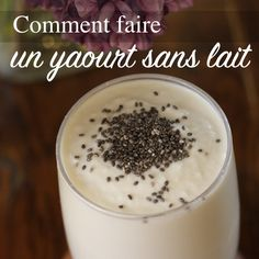 Comment faire un yaourt sans lait Vegan Desserts, Raw Food Recipes, Wine Recipes, Homemade Hummingbird Food, Dessert Sans Gluten, Eat Smart, Lactose Free, Gluten Free, Vegan Cheese