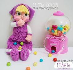 Amigurumi Tutorial Masha : Knitting is love: Amigurumi Masha and the Bear Free ...