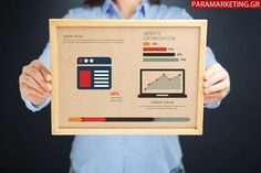Woman holding board with website security concept and infographics stock photo ,
