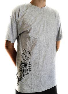 9e890ba6d31 RockOn Streetwear Koi Fish Men TShirt Short by RockOnStreetwear