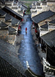 Jiangsu, China An artist like me can spend a life time painting this city of old. J.H.Stein