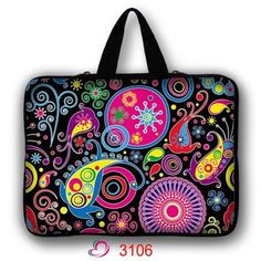 7 10 12 13 14 15 17 inch laptop bag netbook sleeve case with handle handbag computer notebook cover pouch LB-ALL1