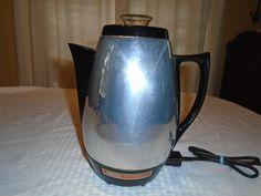 Sunbeam Coffee percolator. Coffee percolator . Sunbeam . coffee pot. by Montyhallsshowcase on Etsy