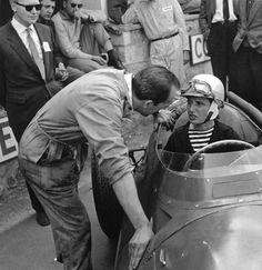 1958 Belgian GP Maria Teresa de Fillppis age 31 girlfriend or something to Luigi Musso,The first woman to compete in a F1 World Championship Event .