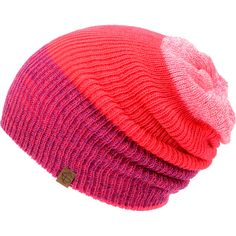 Empyre Girls Tabor Neon Pink Reversible Beanie at Zumiez   PDP Slouchy Hat eaf62640a237