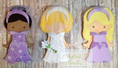 Wedding Day Ready The Bride and her by NettiesNeedlesToo on Etsy, $27.00