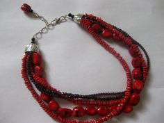 Show, Tell, Share: Make A Multi-Strand Necklace With Bead Cones (STASH)  Step-by-step picture tutorial.
