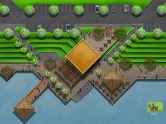 My Favorite Garden Design – Best Puzzles, Games, Ideas & Landscape Architecture Design, Landscape Plans, Green Landscape, Site Development Plan, Parque Linear, Urban Ideas, Site Plans, Modern Landscaping, Urban Planning