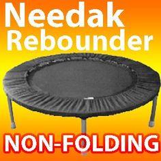 Amazon.com: Needak Mini-Trampoline Rebounder-R02 -Soft Bounce- Black Non-fold: Sports & Outdoors