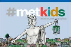 Kids + Fine Art! The Met gets super kid-friendly with a new digital feature called #MetKids. parents will definitely dig it too.