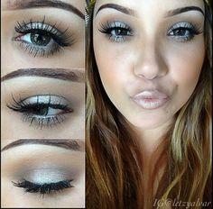 Frosty eyes & lips