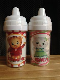 Daniel Tiger Neighborhood Spill-Proof Personalized Sippy Cup on Etsy, $10.99