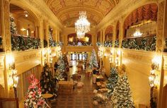 The 2013 Festival of Trees in Fort Wayne, held at the Historic Embassy Theatre downtown.