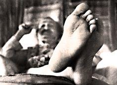 """Meher Baba, """"Lotus Feet"""""""