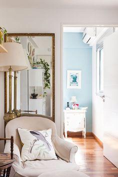 Interiores #165: Jardín secreto – Casa Chaucha Oversized Mirror, Sweet Home, Furniture, Home Decor, Ph, Environment, Yurts, Gardens, Interiors