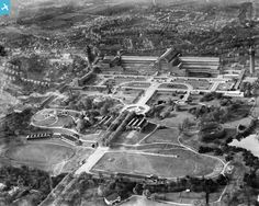 Crystal Palace Park and Crystal Palace, Penge, 1928 Exhibition Building, Exhibition Space, Crystal Palace, Hyde Park, Croydon Airport, Palace London, Glass Structure, Forest Hill, Le Palais