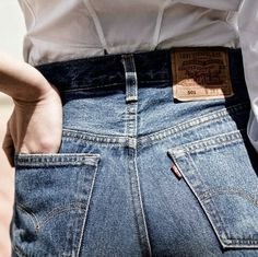 Levi's are our go-to denim choice.