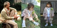 Doctor Who thing: adorable two-year-old dresses as all the Doctors