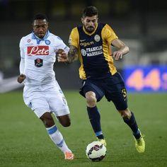 Jonathan #DeGuzman #Napoli contro Eros #Pisano #Verona