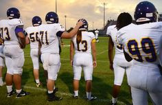 To the Boys, Her Role Is Simple: Teammate    Erin DiMeglio, the new backup quarterback on her high school's football team. The senior at South Plantation High near Fort Lauderdale is believed to be the first female quarterback in Florida.