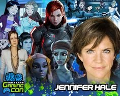 Meet Jennifer Hale at #SLGC17 July 7th-8th at the South Towne Expo Center in Sandy, Utah!
