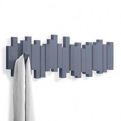 Umbra Sticks Coat Rack - Mist Blue [D] - Gifts for the Home Coat Hanger, Coat Hooks, Wall Hanger, Wall Hooks, Vintage Umbrella, Standing Coat Rack, Clothes Hooks, Hook Rack, Vintage Clothing Stores
