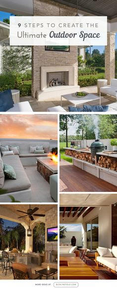 9 Steps To Create The Ultimate #Outdoor Living Space