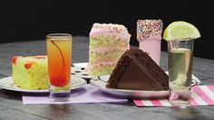 Dessert Vodka Shots: These three vodka shots are as pretty (and as tasty!) as cake.