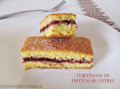 Tortinhas de frutos silvestres | sem glúten