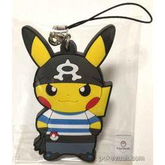 Pokemon Center 2016 Secret Teams Campaign #2 Team Aqua Pikachu Rubber Strap