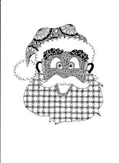 kerstman made by Jolanda van Zundert