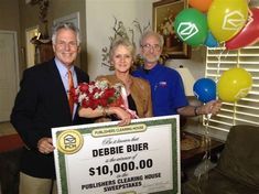 """Here is another PCH Fan that was really smart ! Debbie won a PCH major prize the other day and guess what she is a PCH SuperFan so she """"Doubles her money""""! PCH Doubles up to 1 Million (Smiles) Instant Win Sweepstakes, Online Sweepstakes, Lottery Winner, Publisher Clearing House, Winning Numbers, Luck Of The Irish, Bing Images, Congratulations, Activities"""