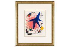 Untitled From Joan Miró Lithographe I.I on OneKingsLane.com