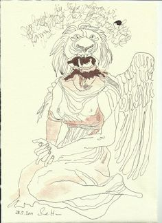 Das suessliche aus den Engeln Version 2 (c) Zeichnung von Susanne Haun