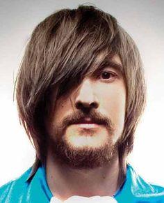 Mens long haircuts with bangs