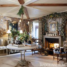 <p>Charles Faudree's country cabin wasn't born with charm; he just made it seem that way</p>